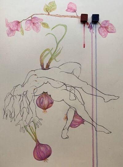 Megha Joshi, 'While the Onions Pierce, Bougainvillea are Fierce ', 2020