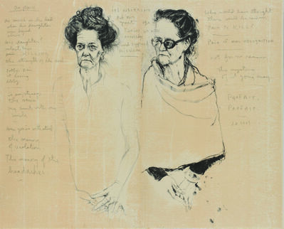 Jim Dine, 'Double Diana with Poem', 2007