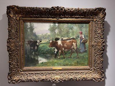 Jules Dupré, 'Tending the Herd', 19th century