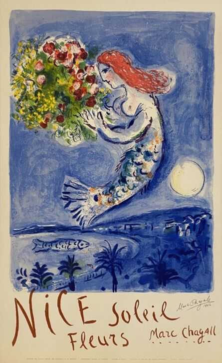 Marc Chagall, 'La Baie des Anges SIGNED', 1962