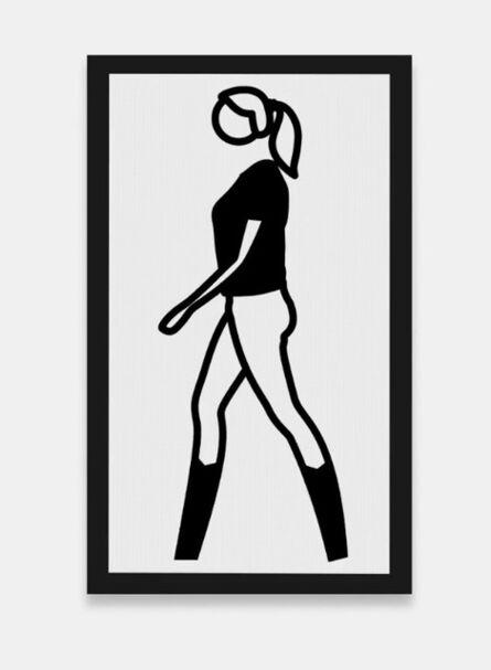 Julian Opie, 'Tina walking 2', 2011
