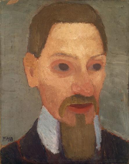 Paula Modersohn-Becker, 'Bildnis Rainer Maria Rilke (Portrait of Rainer Maria Rilke)', 1906
