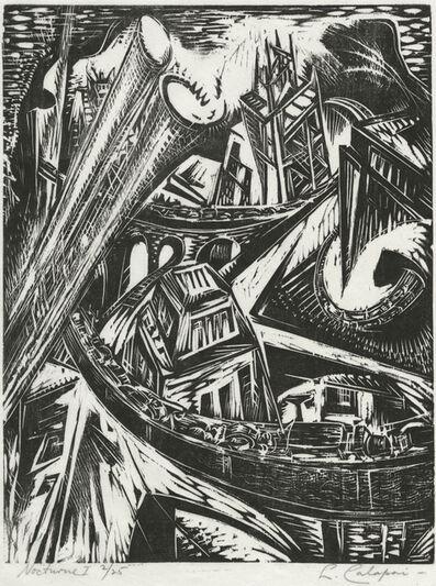 Letterio Calapai, 'Nocturne I', 1958