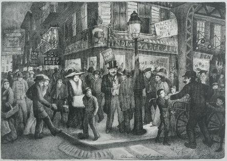 Glenn O. Coleman, 'The Bowery', 1928