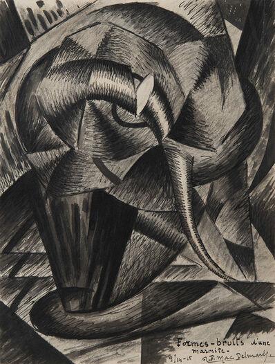 Félix Del Marle, 'Formes-bruits d'une marmite', 1914-1915