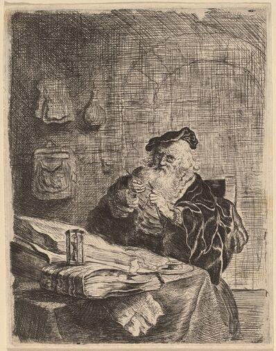 Salomon Koninck, 'Man with a Penknife'