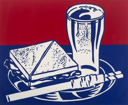 Roy Lichtenstein, 'Sandwich and Soda, from Ten Works by Ten Painters', 1964