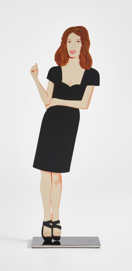 Alex Katz, 'Black Dress (Cecily)', 2018