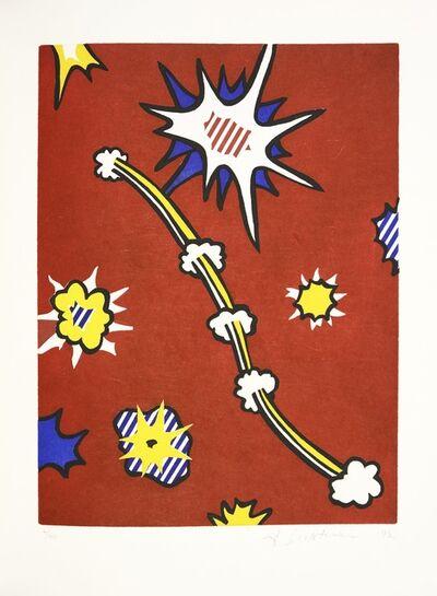 Roy Lichtenstein, 'Illustration for 'De Denver au Montana, Départ 27 Mai 1972' (II), from La Nouvelle Chute de l'Amérique', 1992