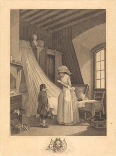 J.-Louis Darcis after Nicolas Lavreince, 'L'accident imprevu', 1789