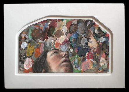 Tim Lowly, 'Study for Lavender Mystic', 2016
