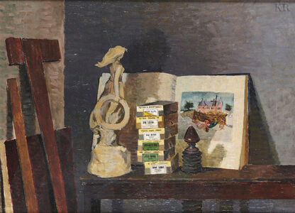 Kenneth Rowntree, 'Still Life with Grace Darling', 1949