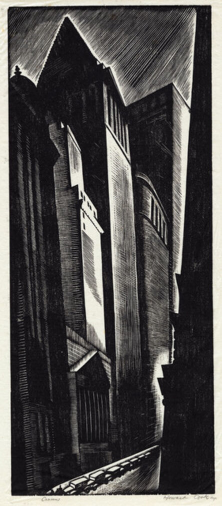 Howard N. Cook, 'Canyons, New York.', 1928