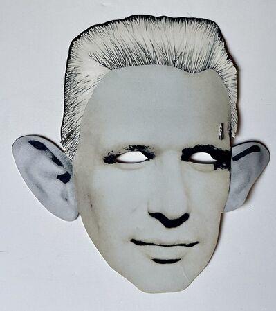 "Jean Paul Gaultier, '""Palladium & Jean Paul Gaultier"", Look-Alike Contest Invitation Paper Mask/Flyer ', ca. 1987"