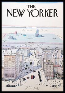 Saul Steinberg, 'The New Yorker', 1976