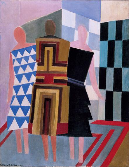 Sonia Delaunay, 'Simultaneous Dresses (The three women)', 1925