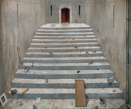 Chester Arnold, 'The 13 Steps', 2015