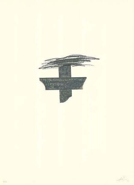 Antoni Tàpies, 'LLambrec 1', 1975