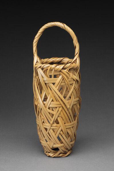 Shono Shounsai, 'Toss-In Style Flower Basket', 1940-1944