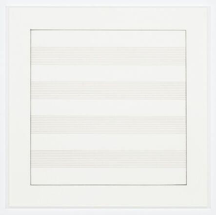 Agnes Martin, 'Untitled (2)', 1991