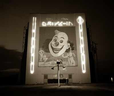 Steve Fitch, 'Chalk Hill Drive-in theater, Highway 80, Dallas, Texas', 1973