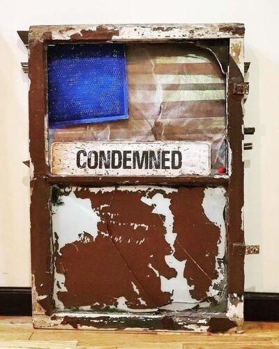william sorvillo, 'Untitled (Condemned sign)', 2020