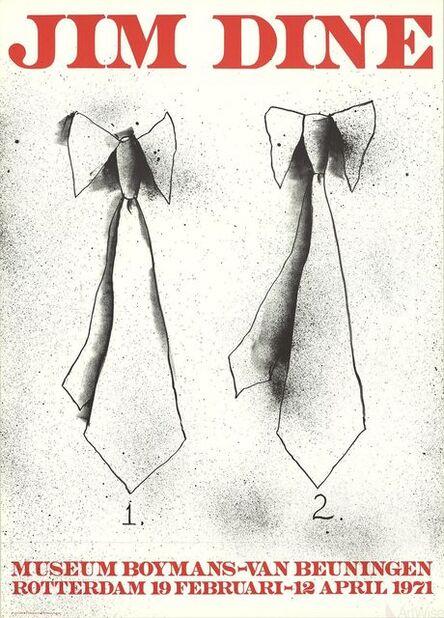 Jim Dine, 'Two Ties', 1971