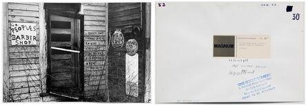 Leonard Freed, 'Broken Down House A Former Barber Shop in Alabama, pl 55', 1965