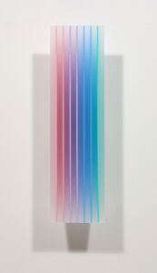 Eric Zammitt, 'PINKAQUA PINK Left', 2014