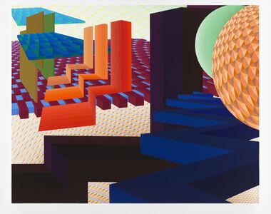 Al Held, 'East of Day', 2002