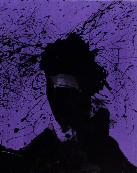 Richard Hambleton, 'Shadow Head with Purple', 1999