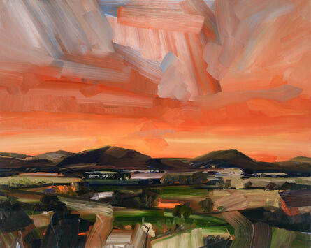 Simon Andrew, 'Early Evening Landscape', 2020