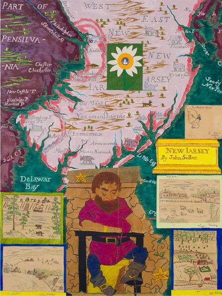 Joyce Kozloff, 'The Giant of New Jersey', 2017