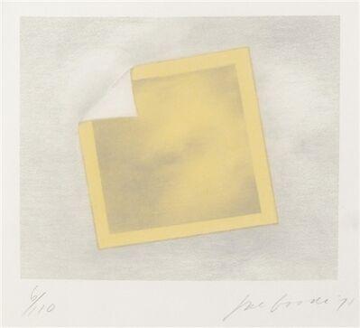 Joe Goode, 'Untitled (yellow folded photo)', 1971