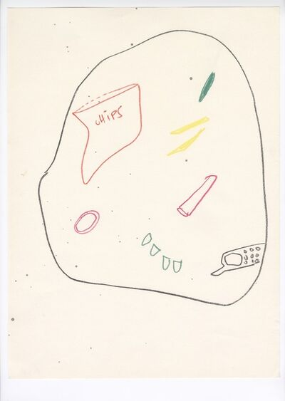 "Pauline Curnier Jardin, 'Preparatory Sketch for ""The Resurrection Plot""', 2015"