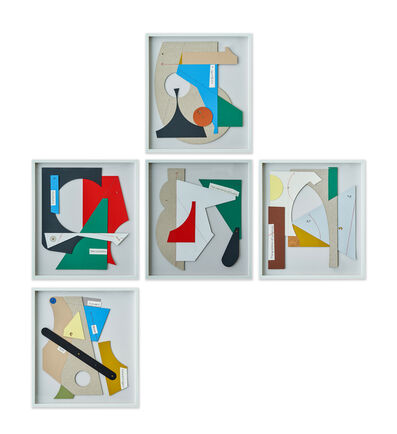 Mateo López, 'The waste of my time, Set of 5', 2020