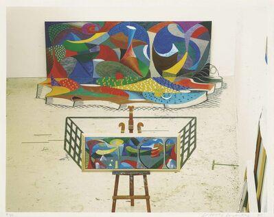 David Hockney, 'The Studio March 28th 1995', 1995