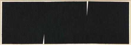 Richard Serra, 'Double Rift #9', 2013