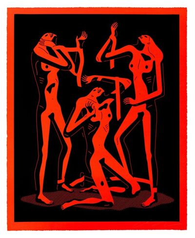 Cleon Peterson, 'Sirens (Red)', 2021