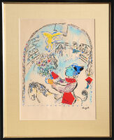 Marc Chagall, 'The Circus with the Angel', circa 1968