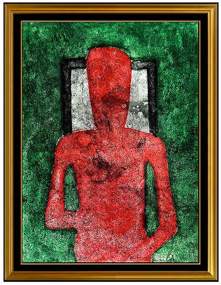 Rufino Tamayo, 'Hombre en Rojo', 1976
