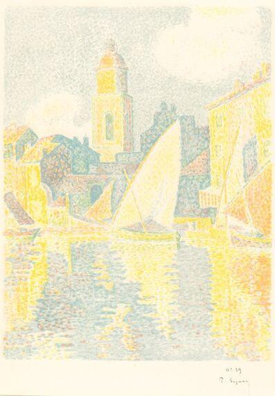 Paul Signac, 'St. Tropez: The Port (Saint-Tropez: Le port)', 1897/1898