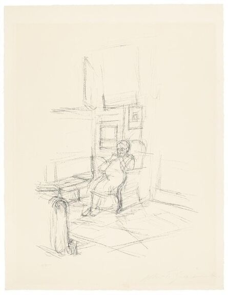 Alberto Giacometti, 'The Artist's Mother Seated N°Lust: 50', 1965