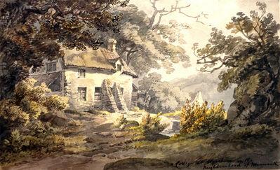 William Payne, 'A Cottage at Wyesham', 1810-1830