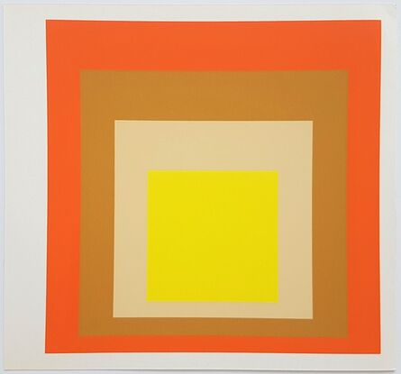 Josef Albers, 'Homage to the Square: Yes Sir', 1977