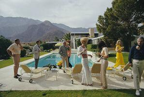 Slim Aarons, 'Poolside Socialites', 1970