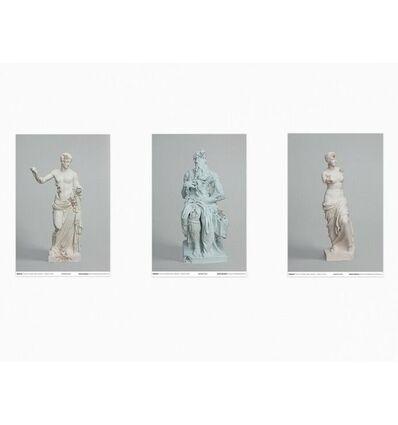 "Daniel Arsham, ' Daniel Arsham ""3020"" Exhibition Set Of 3 Posters', 2019"