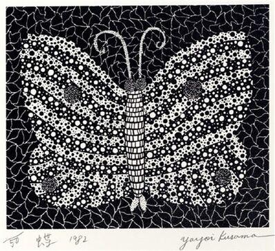 Yayoi Kusama, 'Butterfly (Kusama 18)', 1982