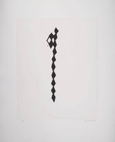 Joan Hernández Pijuan, 'Rofe negro IV', 2000
