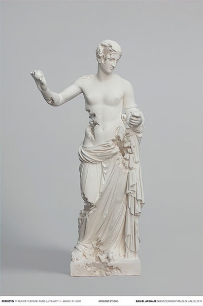Daniel Arsham, 'Quartz Eroded Venus of Arles', 2019